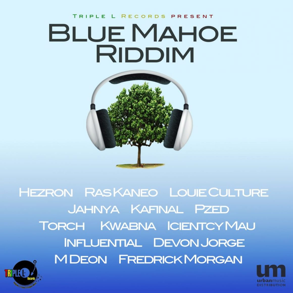 New Release: Blue Mahoe Riddim by Triple L Records