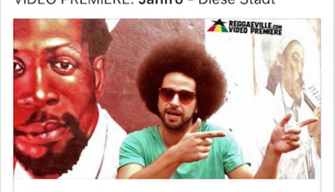 Reggaeville Video Premiere: Jahfro – Diese Stadt