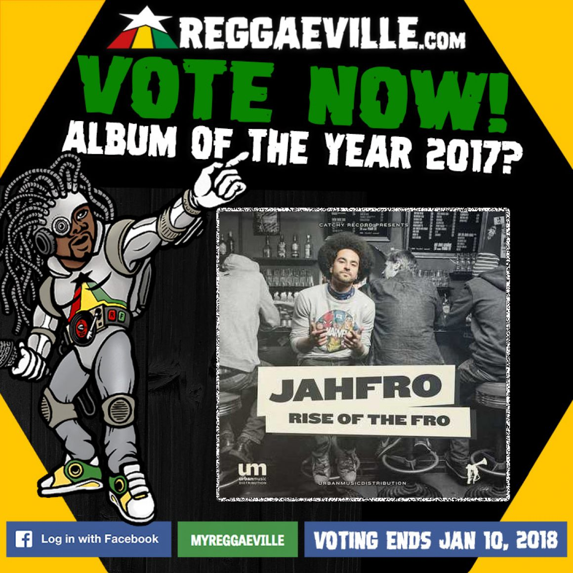 Vote for Jahfro – Rise Of The Fro on Reggaeville.com