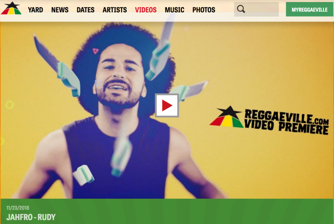 "Music Video: ""Jahfro – Rudy"" auf Reggaeville"