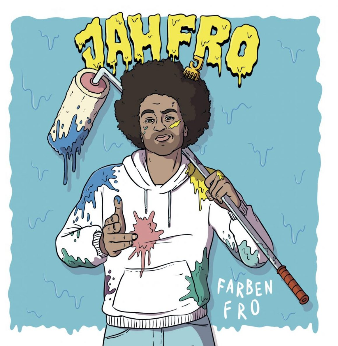 New Release: Jahfro – Farbenfro
